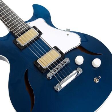 גיטרה חשמלית רבע נפח Harmony Comet צבע Midnight Blue