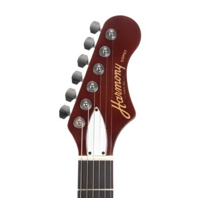 גיטרה חשמלית רבע נפח Harmony Comet צבע Sunburst
