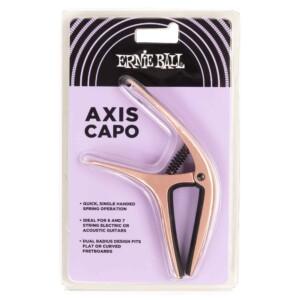 9605 קאפו Ernie Ball Axis Capo Rose Gold Satin