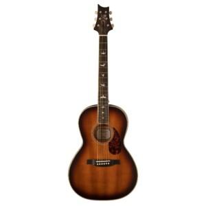 גיטרה אקוסטית פרלור מוגברת PRS SE P20 צבע Tobacco Sunburst