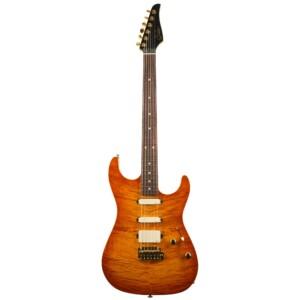 גיטרה חשמלית Suhr Limited Edition Standard Legacy Tremolo צבע Suhr Burst