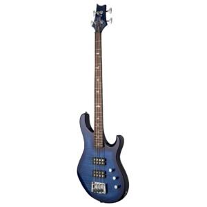 גיטרה בס PRS SE Kingfisher, Faded Blue Wraparound Burst