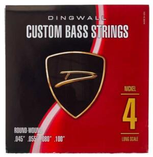 סט מיתרים לגיטרה בס Dingwall Long Scale 4-String Nickel Wound 45-100