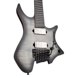 גיטרה חשמלית Strandberg Boden Prog NX 7 צבע Charcoal Black