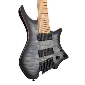 גיטרה חשמלית Strandberg Boden Original NX 8 צבע Charcoal Black