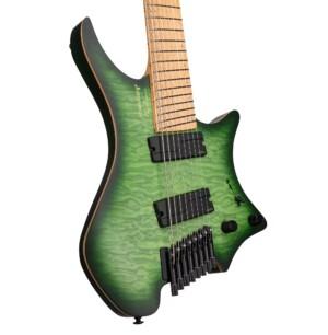 גיטרה חשמלית Strandberg Boden Original NX 8 צבע Earth Green