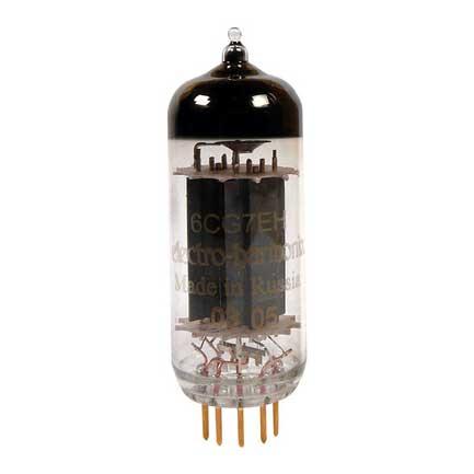 שפופרת פרה-אמפ Electro-Harmonix 6CG7EH Gold Pins