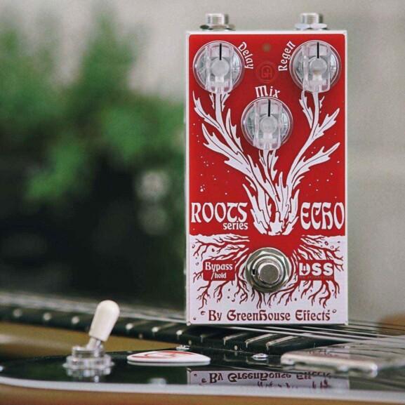 פדאל לגיטרה Greenhouse Effects Roots Echo