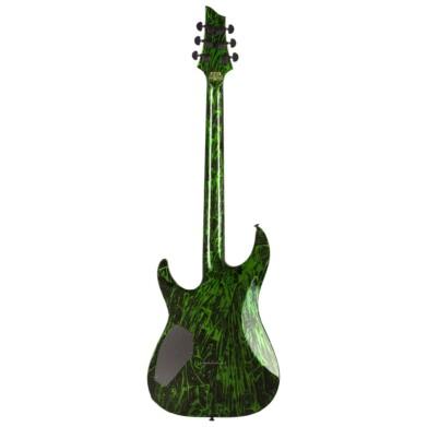 גיטרה חשמלית Schecter C-1 Silver Mountain Toxic Venom