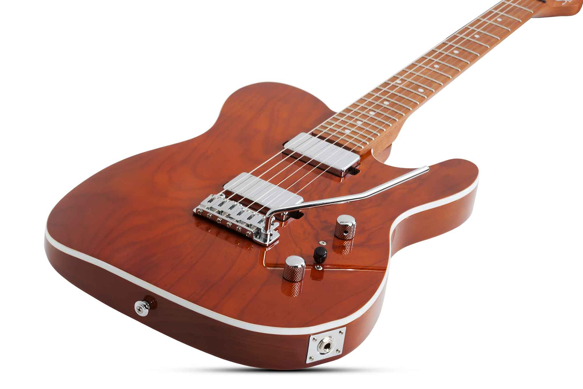 גיטרה חשמלית Schecter PT Van Nuys, Gloss Natural Ash
